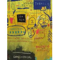 Jean Michel Basquiat 'Hollywood Africans'